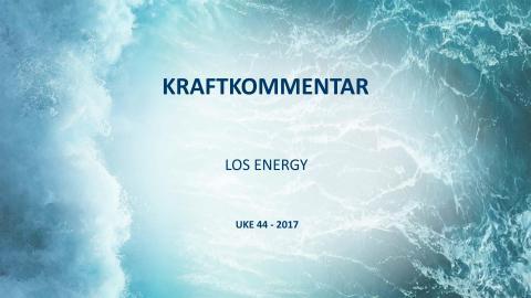 Arkiv: Ukentlig kraftkommentar 2017