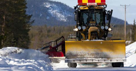 Svevia ska sköta om vägarna i Åsele