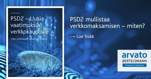 PSD2 tuo uusia vaatimuksia verkkokaupoille.