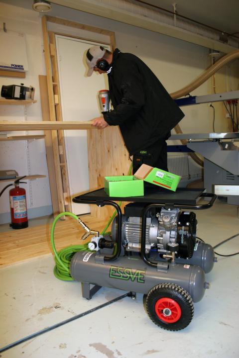 ESSVE lanserar: Ny serie AMP-kompressorer för kraftfullare arbete