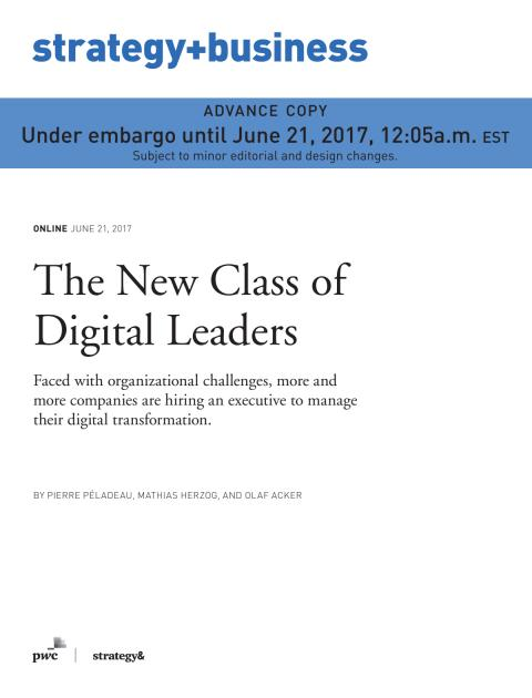 The New Class of Digital Leaders