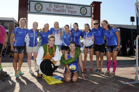 IFK Moras damer segrade i Vasastafetten 2015