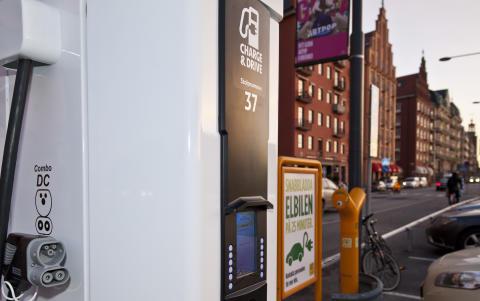 Snabbladdare för elbil