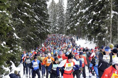 Snudd på skidhysteri i Sverige