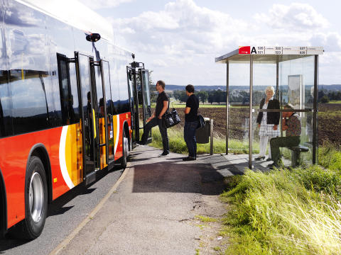 IoT-connected Express bus, ÖstgötaTrafiken