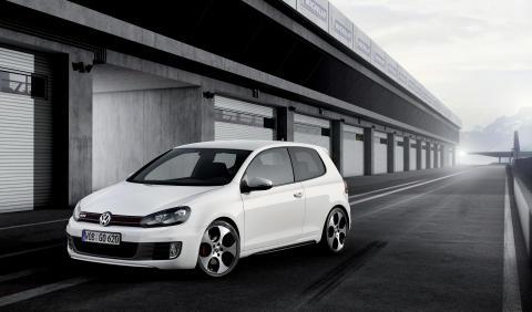 Volkswagen visar en studie av Golf GTI i Paris, bild 4