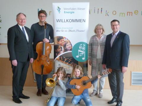 """""""Was für ein (Musik-)Theater!"""" - Westfalen Weser Energie-Gruppe  bringt Musikerlebnis für die ganze Familie nach Sachsenhagen"""