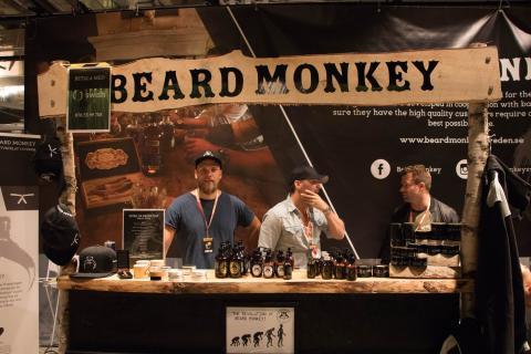 Svenska skäggvårdsmärket Beard Monkey