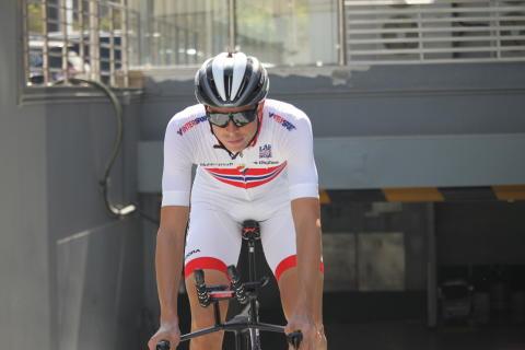 Vegard Staker Laengen under sykkel-VM 2016