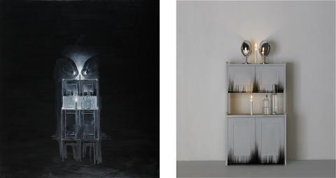 128. Ylva Ogland, Snöfrid vid sin spegel, pärla Utrop: 300 000-350 000 SEK