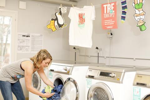 Tvättstuga i Mimer