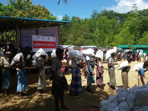 Folkekirkens Nødhjælp sender alle resterende nødhjælpsmidler afsted til rohingya-flygtninge