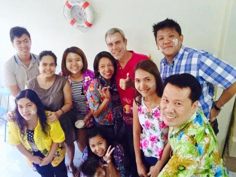 Songkran celebration in Scand-Media Group