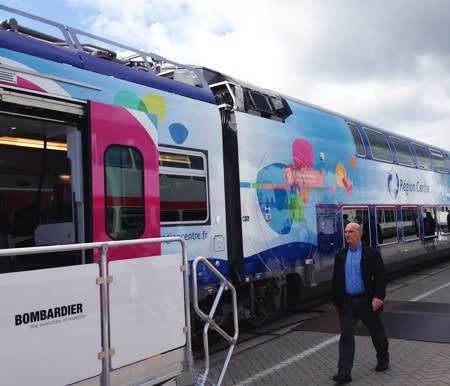 Tåg Bombardier - InnoTrans
