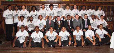 Town Hall toast for Rugby's stars