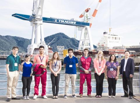 TSUNEISHI SHIPBUILDING accepts Carnegie Mellon University Interns