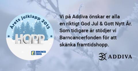 God Jul & Gott Nytt År önskar vi på Addiva!