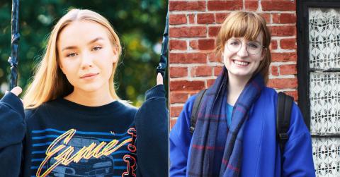 Anja og Line om studielivet på Noroff