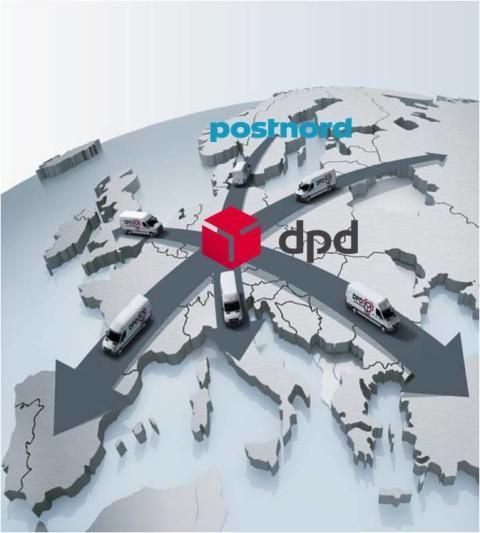 DPDs nettverk i Europa