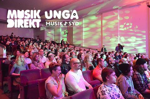 Rekordmånga anmälda till Musik Direkt 2016 i Skåne/Kronoberg