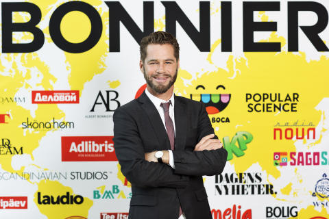 Jan Lund, incoming Director of Business Development and Strategy, Bonnier AB