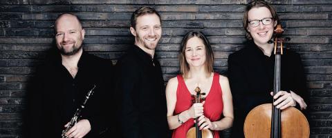 Sydsvensk turné med Messiaen Quartet Copenhagen