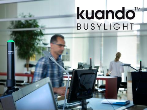 Plenom AS har valgt EET Europarts Norge som distributør av Kuando Busylight