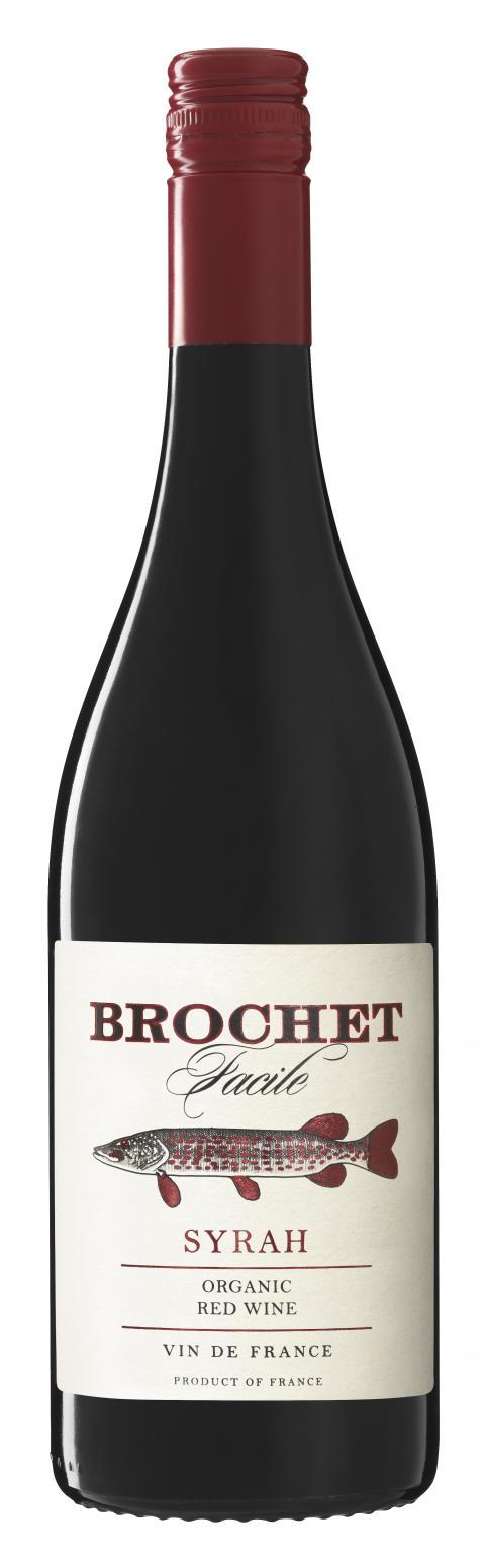 Brochet Facile - ekologiska succévinet nu även även som rött på Systembolaget