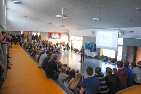 Indvielse af Hafbjerg Skole