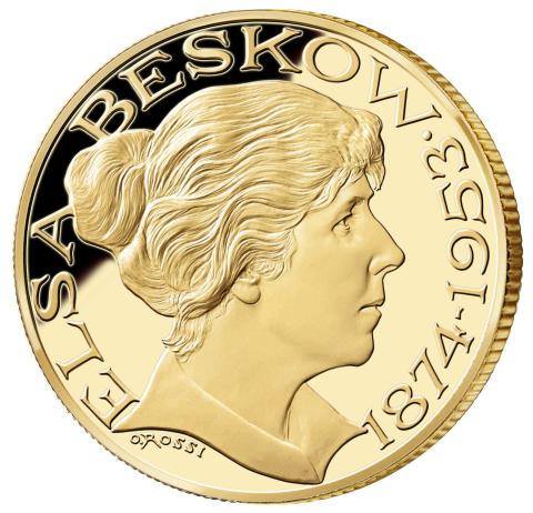 Elsa Beskow uppmärksammas med minnesmedalj
