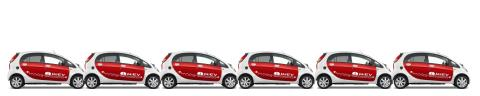 Kö till Mitsubishis elbil