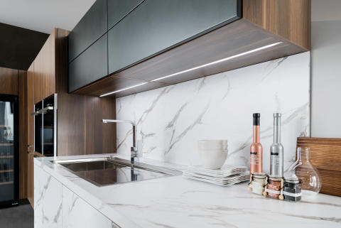Schmidt køkken moderne marmor