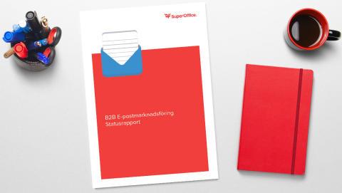 SuperOffice presenterar sin nya undersökning: E-post fortfarande viktig som kommunikationskanal inom B2B-marknadsföring