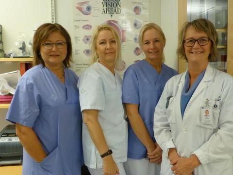 Bank för fosterhinnor till ögonpatienter på Nus