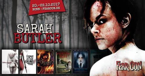 Sarah Butler - die Rache-Königin, kommt im Oktober zur FearCon ins Hotel Maritim nach Bonn