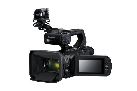 Canon udvider den populære XA-serie med tre nye  kompakte 4K UHD professionelle camcordere