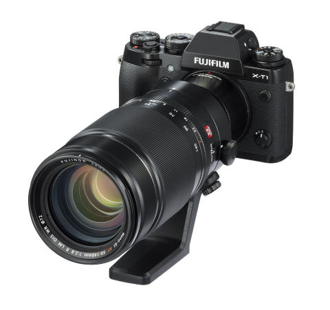 FUJINON XF2X TC WR with XF50-140 and X-T1