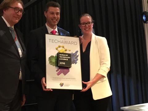 Techaward utmärkelse till Rittals 'Blue e+' kylaggregat