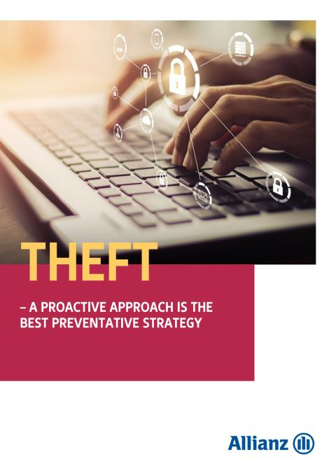 Theft - A proactive approach is the best preventative strategy