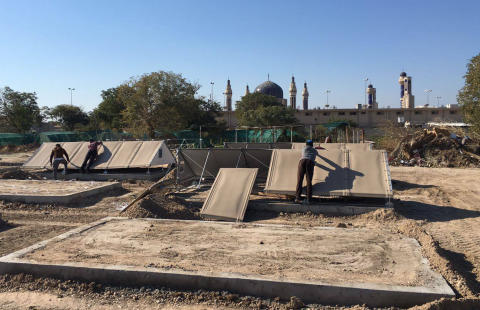 Better Shelter and Ahalna Campaign provide temporary housing in Iraq