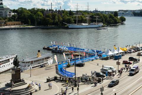 Medley i samarbete med Vattenfall World Triathlon Stockholm
