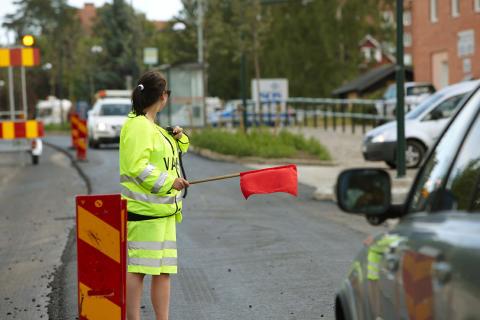 Ramudden dirigerar trafiken till MaskinExpo