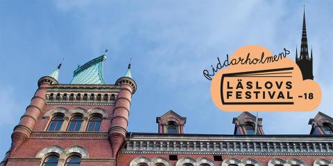 Premiär för Riddarholmens Läslovsfestival