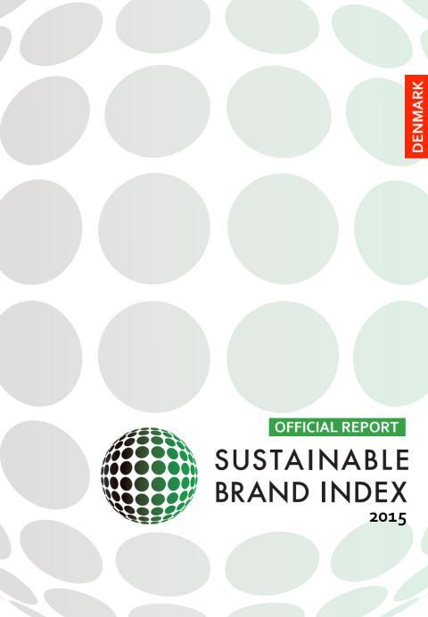Sustainable Brand Index 2015 - officiell rapport för Danmark