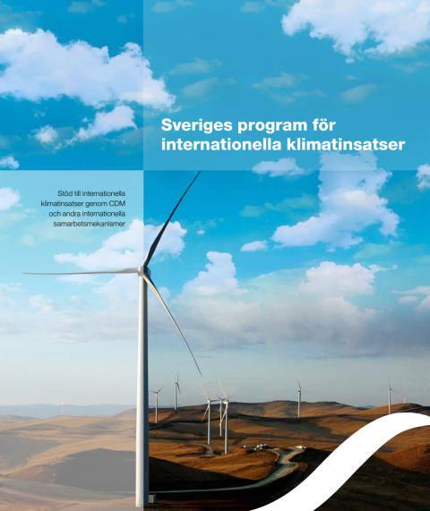 Sveriges program för internationella klimatinsatser