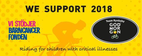 ISOVER sponsrar Team Rynkeby – Eldsjälarna som cyklar för barns rätt att få leva hela livet