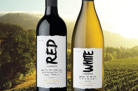 Mia Parnevik lanserar viner med Fetzer Vineyards