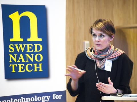 EU, kommunikation och entreprenörer på NanoForum 2014
