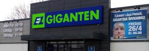 Elgiganten inviger i Enköping