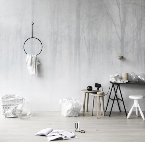 """Vinterskog """"En längtan efter enkelhet och början på något nytt"""""""